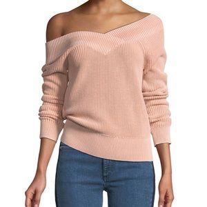 rag & bone Dawn Off the Shoulder Sweater M